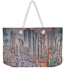 Imaginary City Weekender Tote Bag
