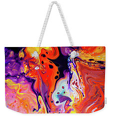 Imagination - Colorful Abstract Art Painting Weekender Tote Bag