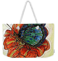 Imagine Butterflies A Weekender Tote Bag