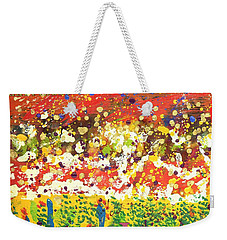 Imagine Happiness Weekender Tote Bag by Angela L Walker