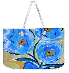 Imagine In Blue Weekender Tote Bag