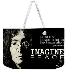 Imagine Peace- John Lennon Weekender Tote Bag