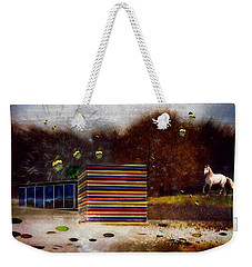 Weekender Tote Bag featuring the photograph Imagine by Richard Ricci