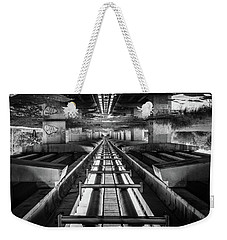 Imaginery Tracks Weekender Tote Bag