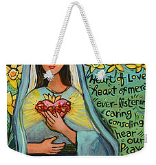 Immaculate Heart Of Mary Weekender Tote Bag