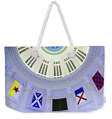 Immagration Flags On Rotundra  Weekender Tote Bag