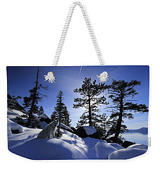 Weekender Tote Bag featuring the photograph Immersed In Light And Shadow by Sean Sarsfield