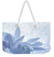 Weekender Tote Bag featuring the digital art Immobility - Wh01t2c2 by Variance Collections