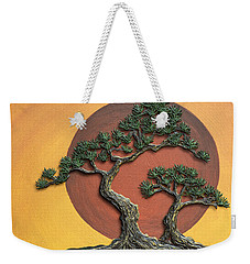 Impasto - Bonsai With Sun - One Weekender Tote Bag
