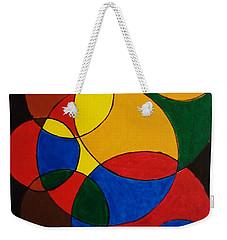 Imperfect Circles Weekender Tote Bag