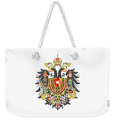 Imperial Coat Of Arms Of The Empire Of Austria-hungary Transparent Weekender Tote Bag