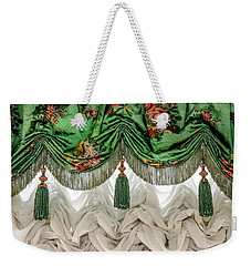 Imperial Russian Curtains Weekender Tote Bag