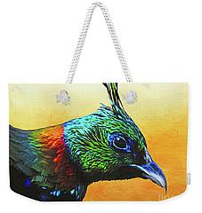 Impeyan Pheasant Weekender Tote Bag