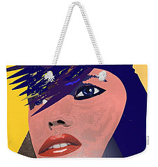 Weekender Tote Bag featuring the painting Impossible Dream by Sheila Mcdonald