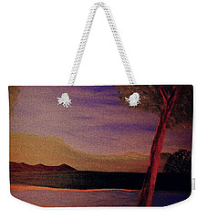 Weekender Tote Bag featuring the painting Impression Of Dawn by Bill OConnor