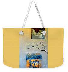 Impression Of The Town Of Wolves Weekender Tote Bag