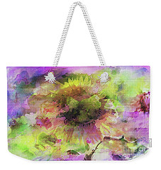 Impression Sunflower Weekender Tote Bag