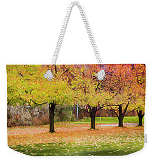 Impressionist Autumn Weekender Tote Bag