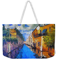 Impressionist D'art At The Canal Weekender Tote Bag