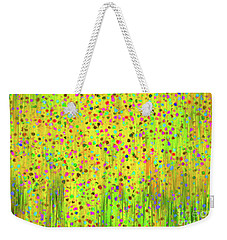 Impressionist Meadow Weekender Tote Bag