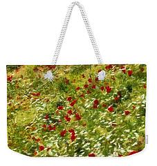 Impressionist Poppies Weekender Tote Bag