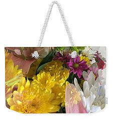 Impressionist Spring Bouquet Weekender Tote Bag