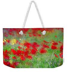 Impressionistic Blossom Near Shderot Weekender Tote Bag