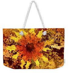 Impressionistic Petals Weekender Tote Bag