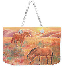 Impressions At Sunset Weekender Tote Bag