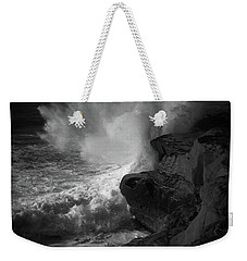 Weekender Tote Bag featuring the photograph Impulse by Ryan Weddle
