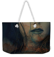 Weekender Tote Bag featuring the mixed media In A Broken Dream  by Paul Lovering