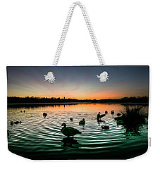 In A Flap Weekender Tote Bag