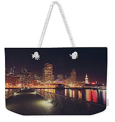 Weekender Tote Bag featuring the photograph In A Heartbeat by Laurie Search