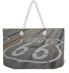Weekender Tote Bag featuring the photograph In A Hurry by Laddie Halupa