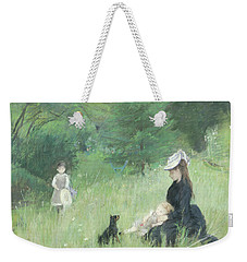 In A Park Weekender Tote Bag by Berthe Morisot