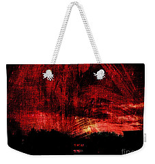 In A Red World Weekender Tote Bag