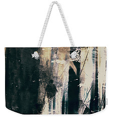 In A Yellow Wood Weekender Tote Bag