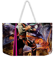 In An Alternate Reality Weekender Tote Bag
