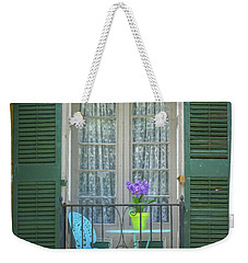 Weekender Tote Bag featuring the photograph In Angelica by Guy Whiteley