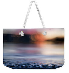 Weekender Tote Bag featuring the photograph In-between Days by Laura Fasulo