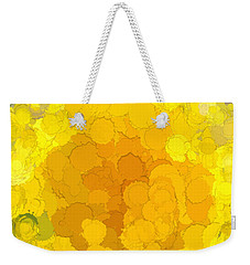 In Color Abstract 14 Weekender Tote Bag by Cathy Anderson