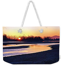 The Fraser River Weekender Tote Bag