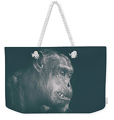 In Deep Thought Weekender Tote Bag