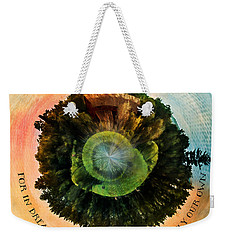 In Dreams A World Entirely Our Own Orb Weekender Tote Bag