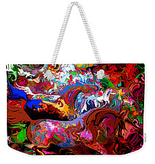 In Dreams Weekender Tote Bag by Loxi Sibley