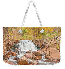 In Every Walk With Nature, One Receives Far More Than He Seeks, Wrote John Muir.  Weekender Tote Bag