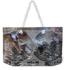 In Excelsis Deo Weekender Tote Bag by Evie Carrier