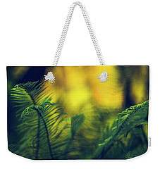 Weekender Tote Bag featuring the photograph In-fern-o by Gene Garnace