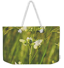 Weekender Tote Bag featuring the photograph In Fields Of Gold by Christi Kraft