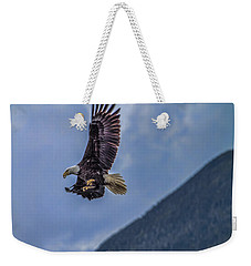 In Flight Lunch Weekender Tote Bag